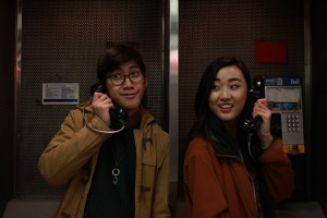 "ALT=""Me on a payphone with my friend"""