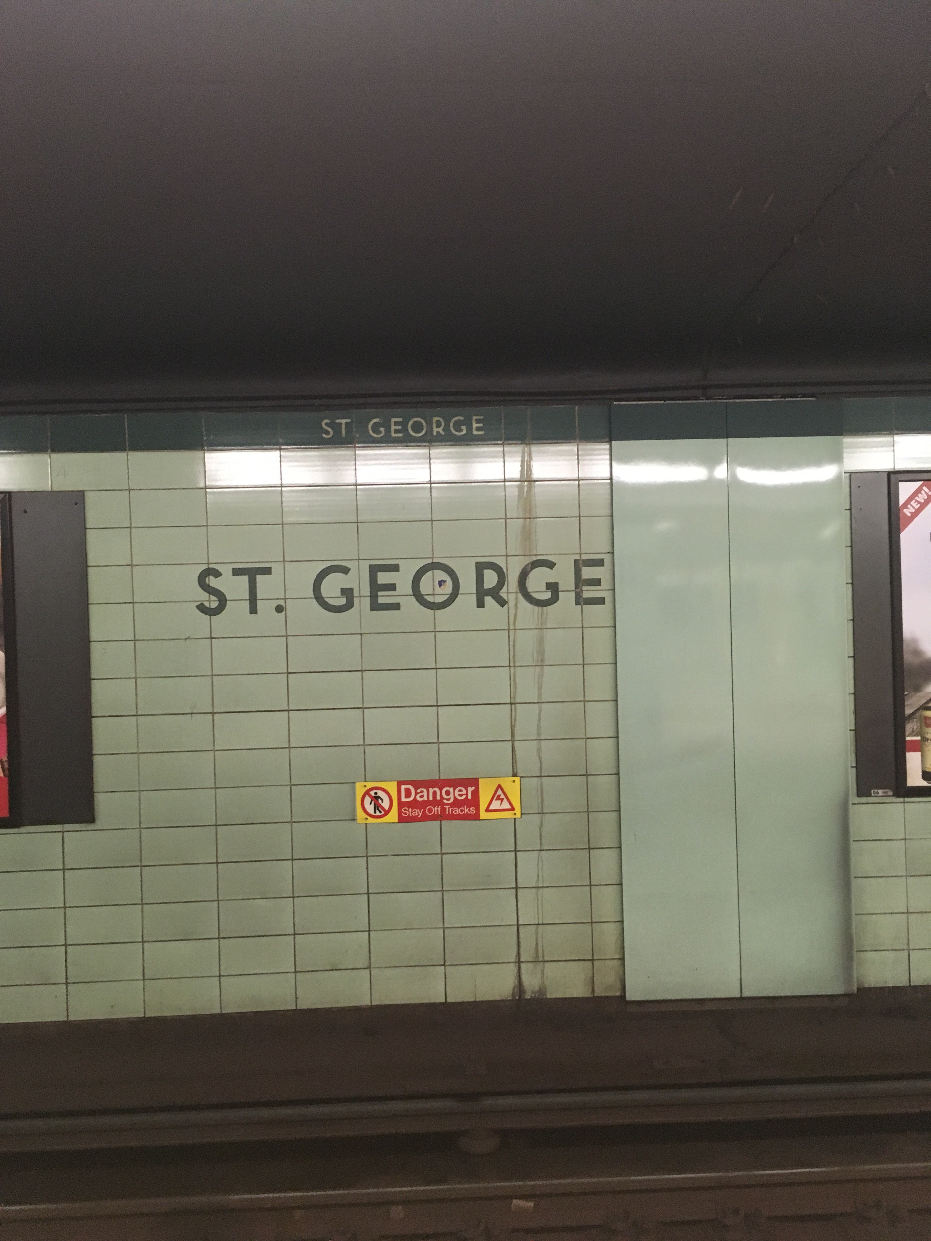 Photo of St. George Subway Station