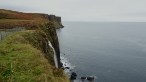 Waterfall at Kilt Rock