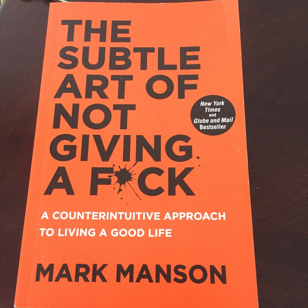 Book cover of The Subtle Art of Not Giving a F*CK