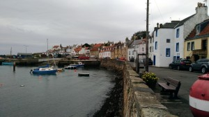 St. Monans - a picturesque fishing village on the fife coastal path