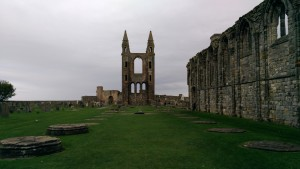Ruined Cathedral in St. Andrews