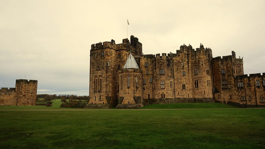 Alnwick Castle was the perfect Halloween trip