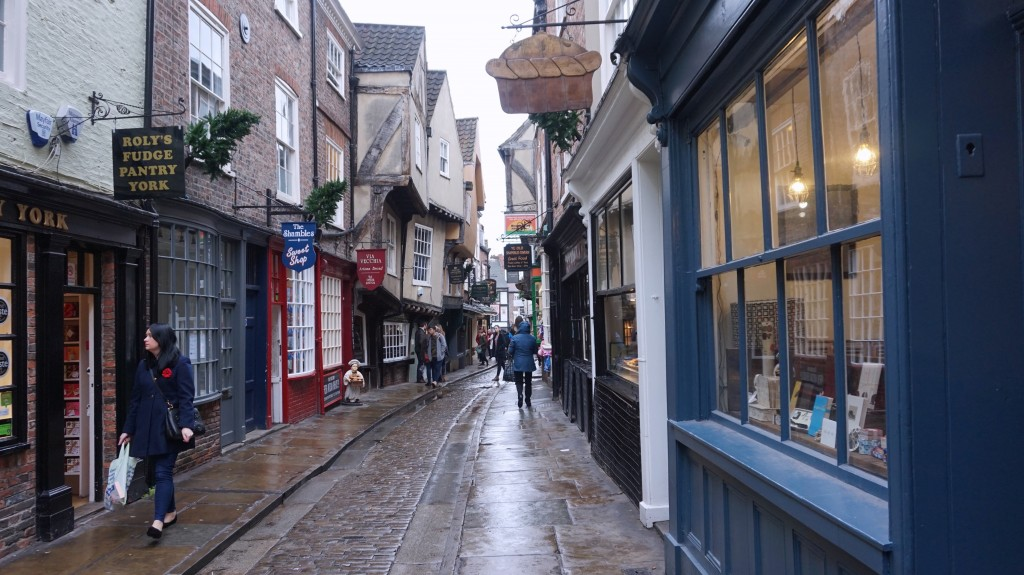 York, UK: I have kept traveling despite the cold and rain