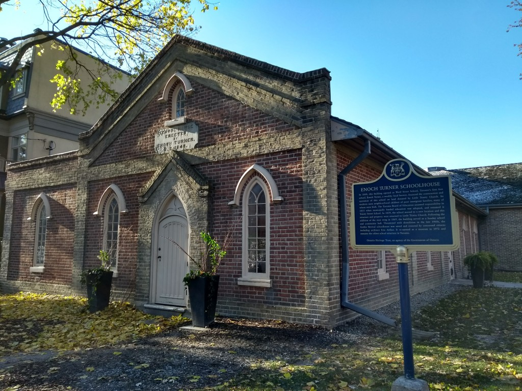 Enoch Turner Schoolhouse, an old schoolhouse built in 1849