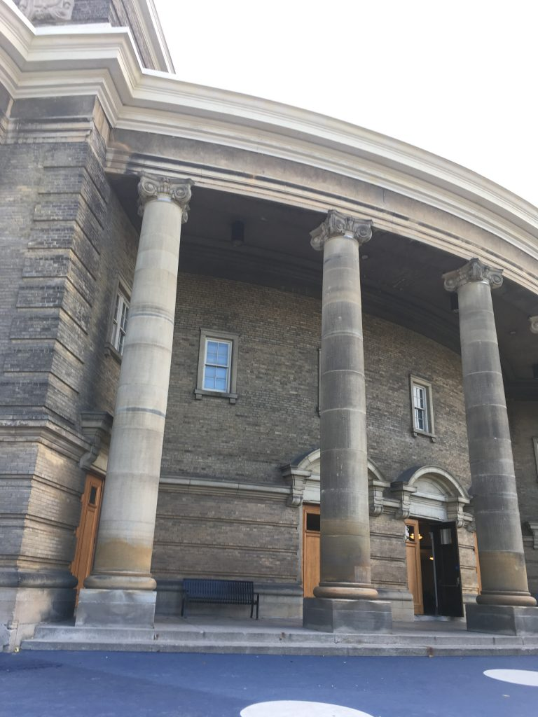 Photograph of Convocation Hall at the University of Toronto