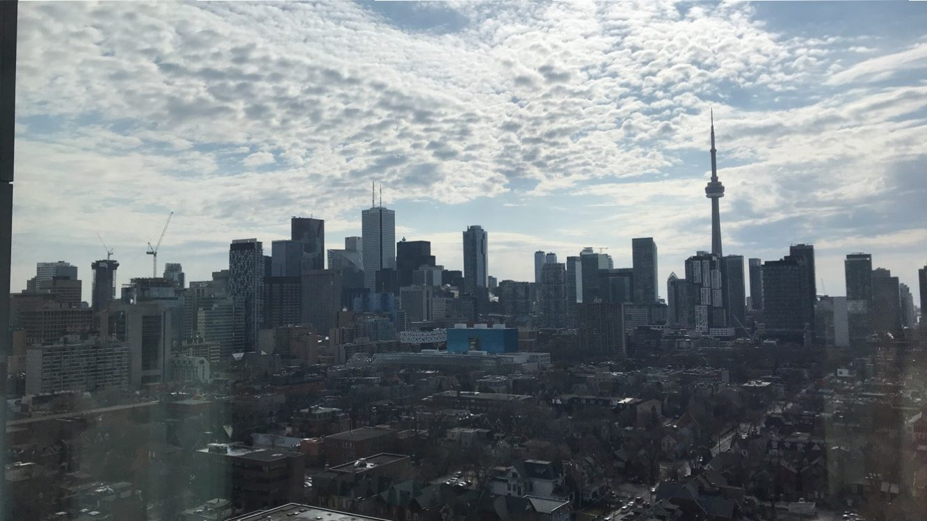 A picture of the entire City of Toronto