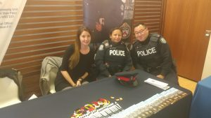 Toronto Police Service members with Aboriginal Peacekeeping Unit