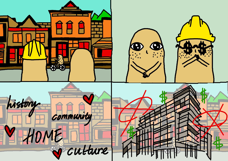 Comic on Gentrification