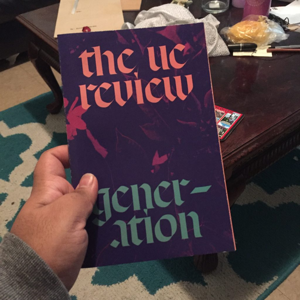 Picture of the UC Review: Generation