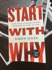 Start with Why by Simon Sinek front cover