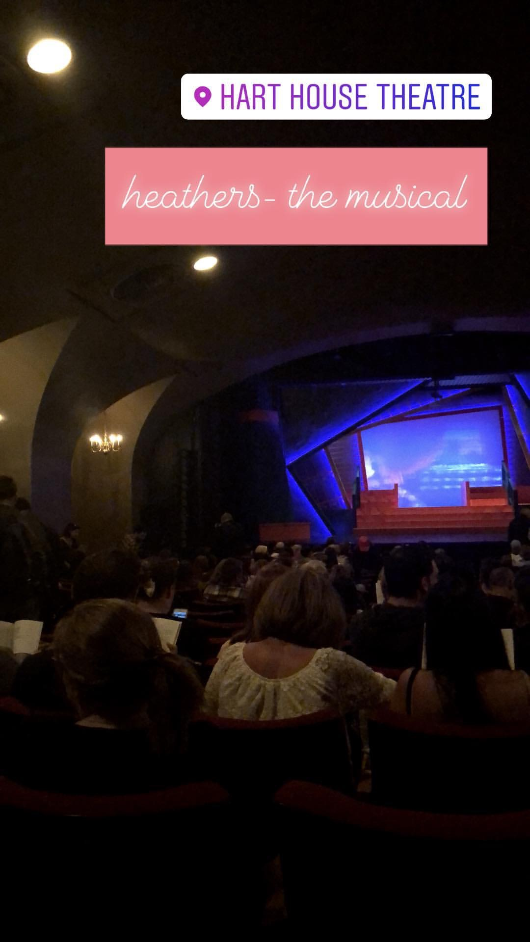 Hart House Theatre before the Musical