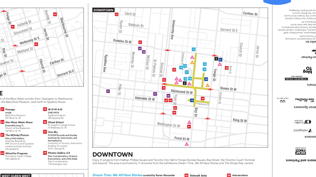 map of nuit blanche