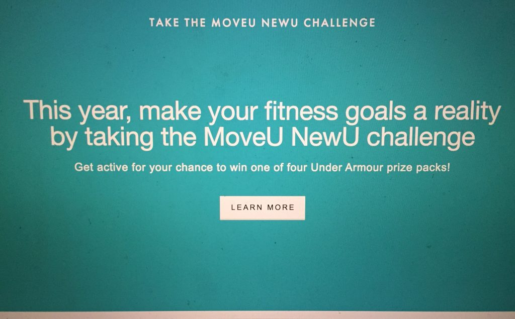 Image of the MoveU description: This year make your fitness goals a reality by taking the MoveU NewU challenge