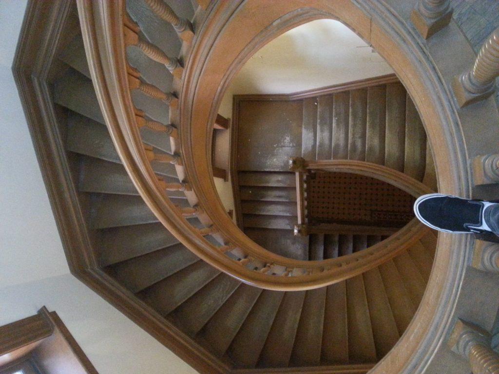 UC spiral stairwell