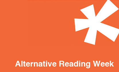 "Orange Poster for ""Alternative Reading Week"""