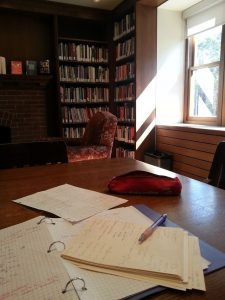 study spot in Graham Library