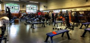 picture of hart house weight room