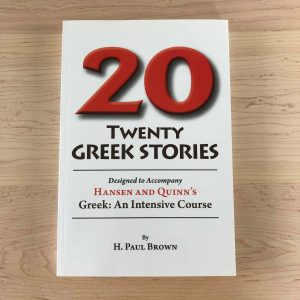 Twenty Greek Stories.