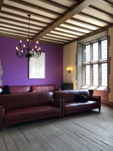 Picture of couches in the Hart House Reading Room