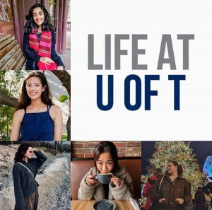 photos of the members of the life at u of t crew