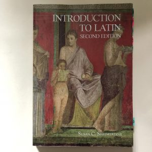 My latin textbook.