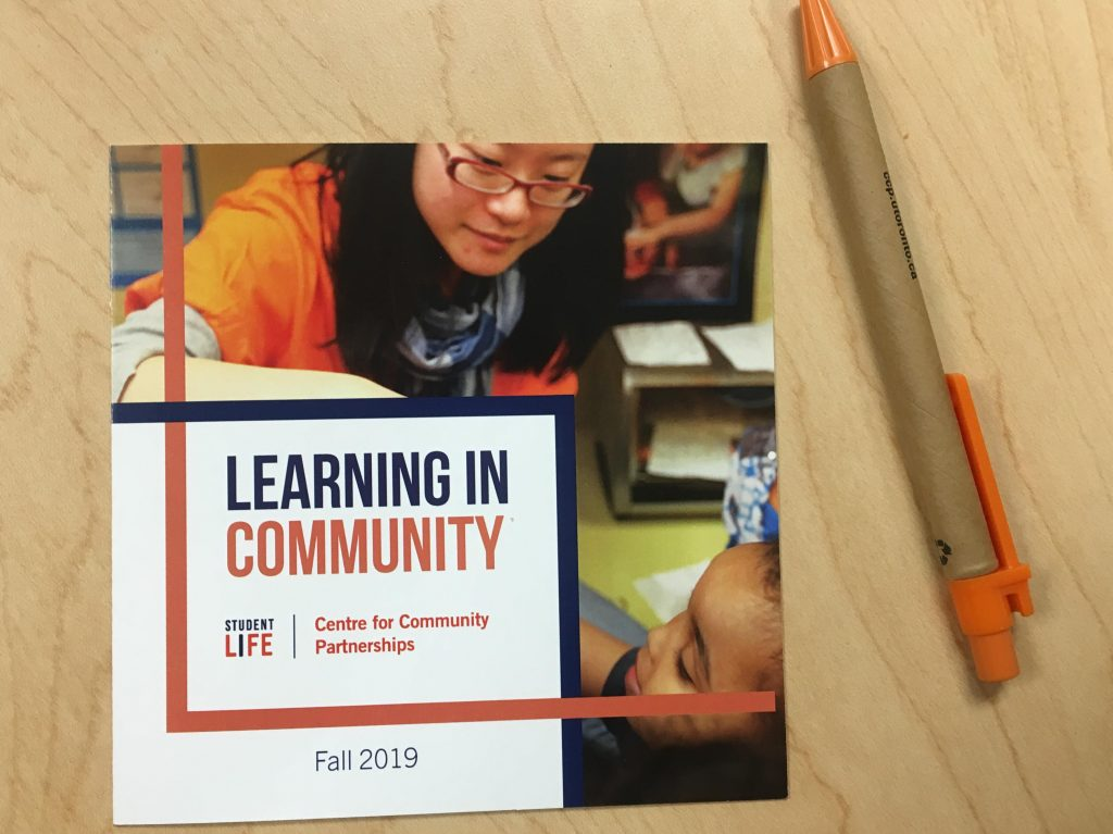 Photo of Learning in Community CCP card