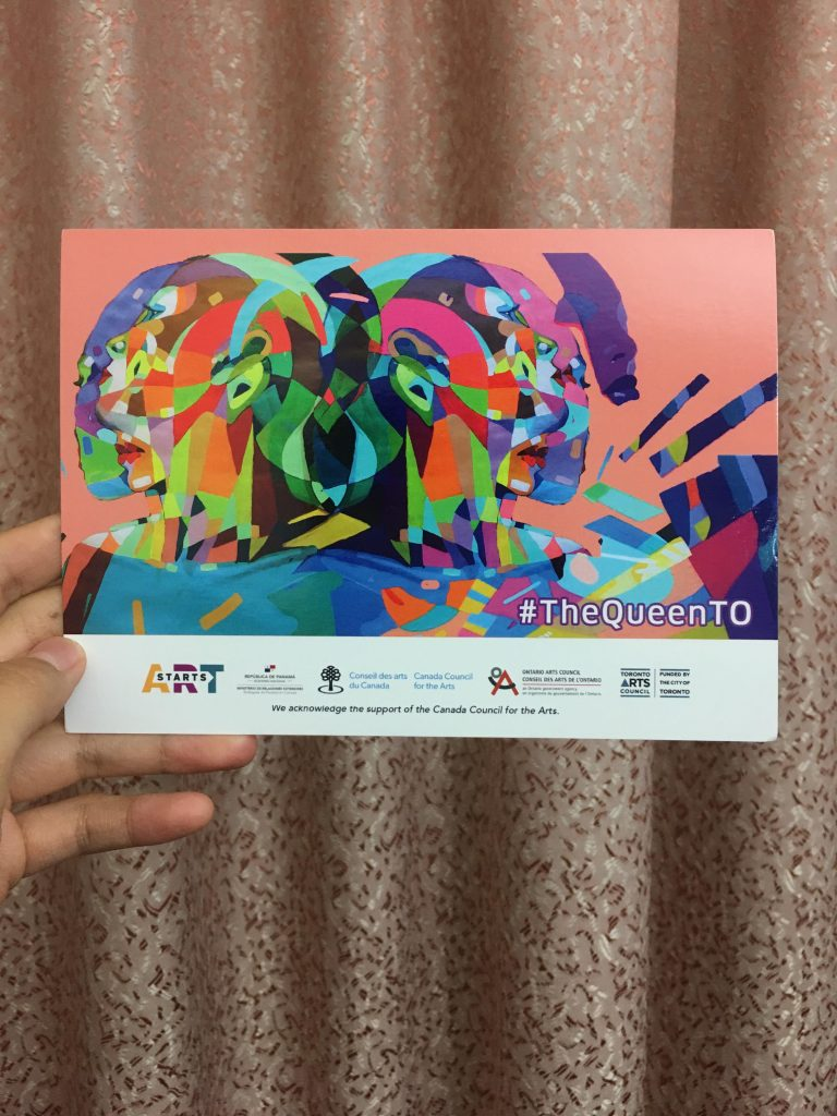 Picture of a postcard called The Colourwheel Project