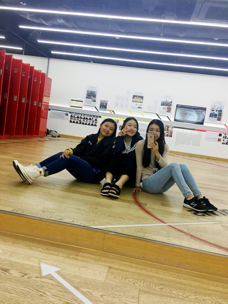Dance studio at SMTOWN museum