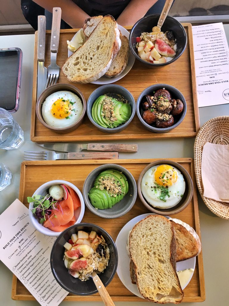 brunch at Grain in Yeonnam-dong