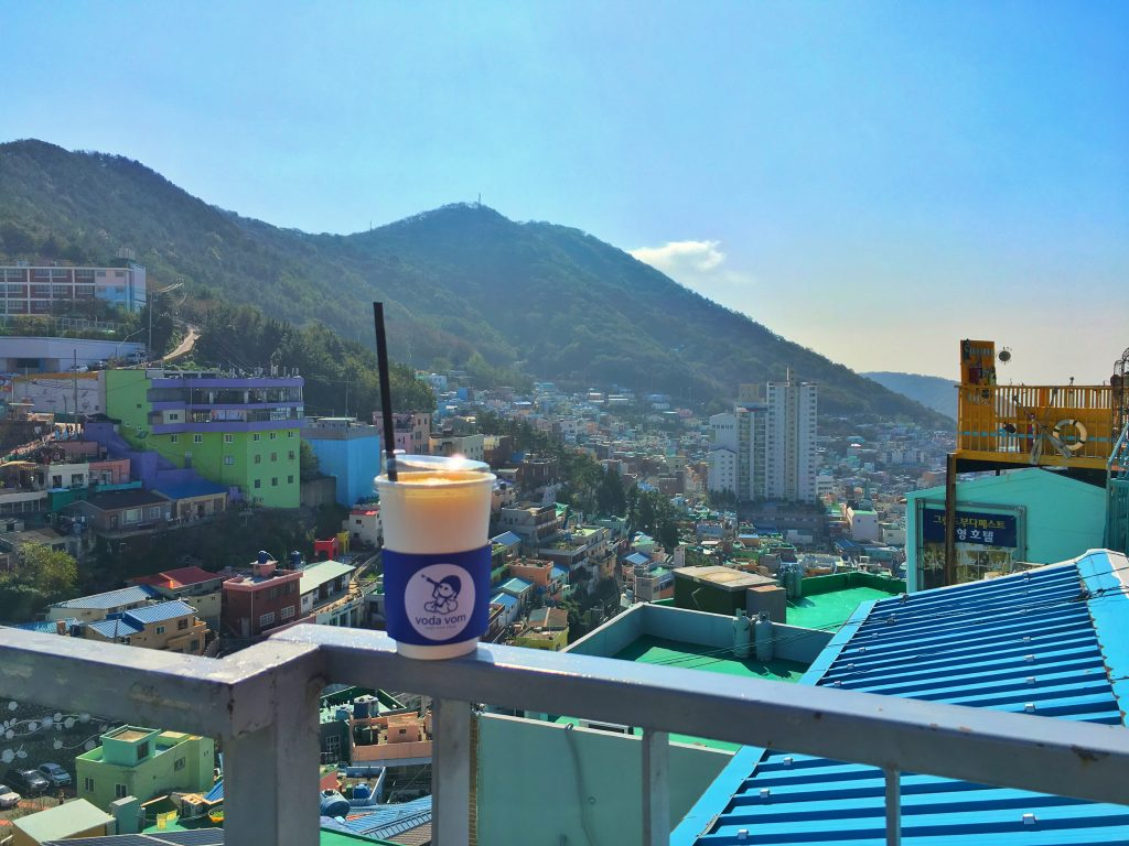 cafe drink & view
