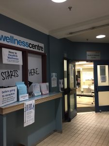 The front of Health and Wellness at U of T