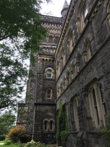 A picture of University College at U of T