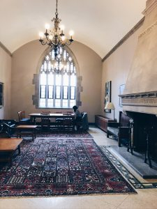 Picture of the inside of Emmanuel College