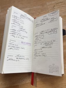 a picture of a day-planner