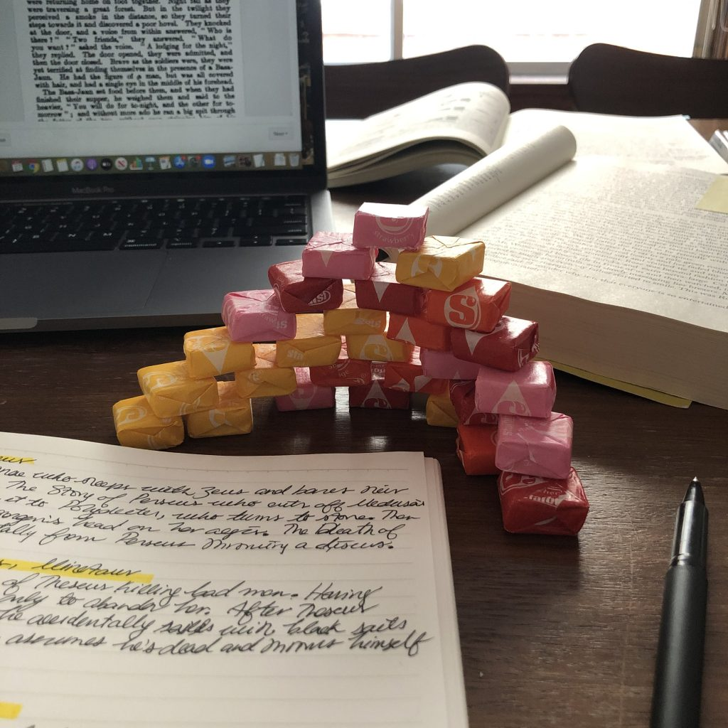 Pile of starbursts.