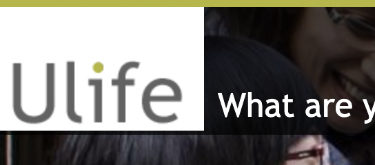 "image of ""Ulife"" website for student clubs at U of T"