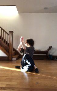 olive dancing.