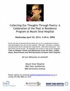 Collecting Our Thoughts Through Poetry_Email Invitation