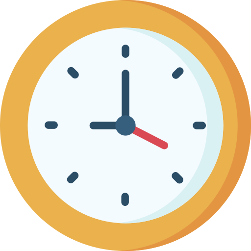 Icon of a clock.