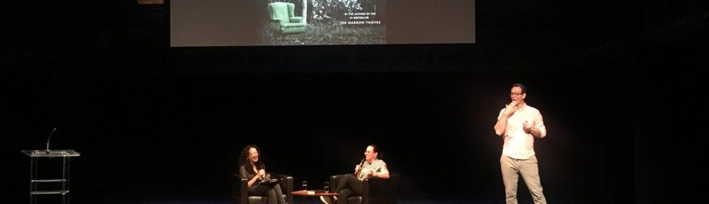 Picture of Cherie Dimaline's talk