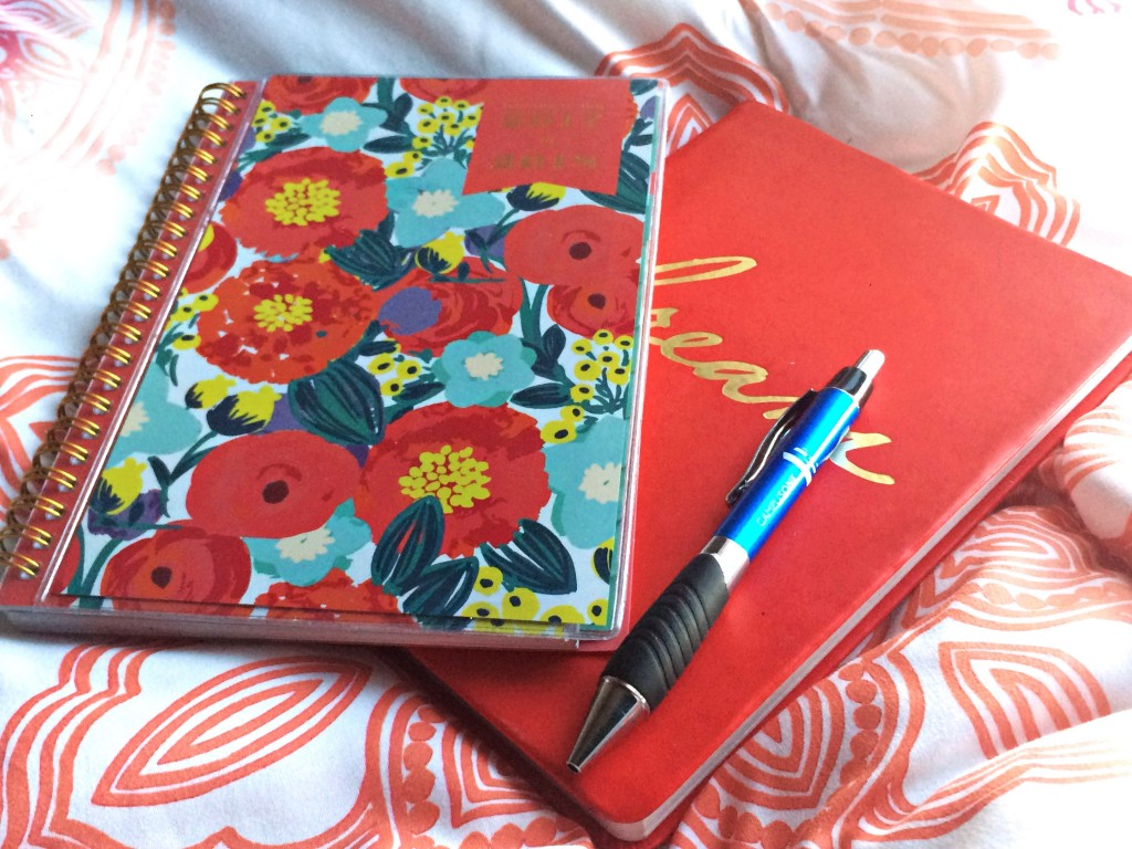 A picture of my planner
