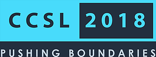 canadian conference on student leadership 2018 logo pushing boundaries