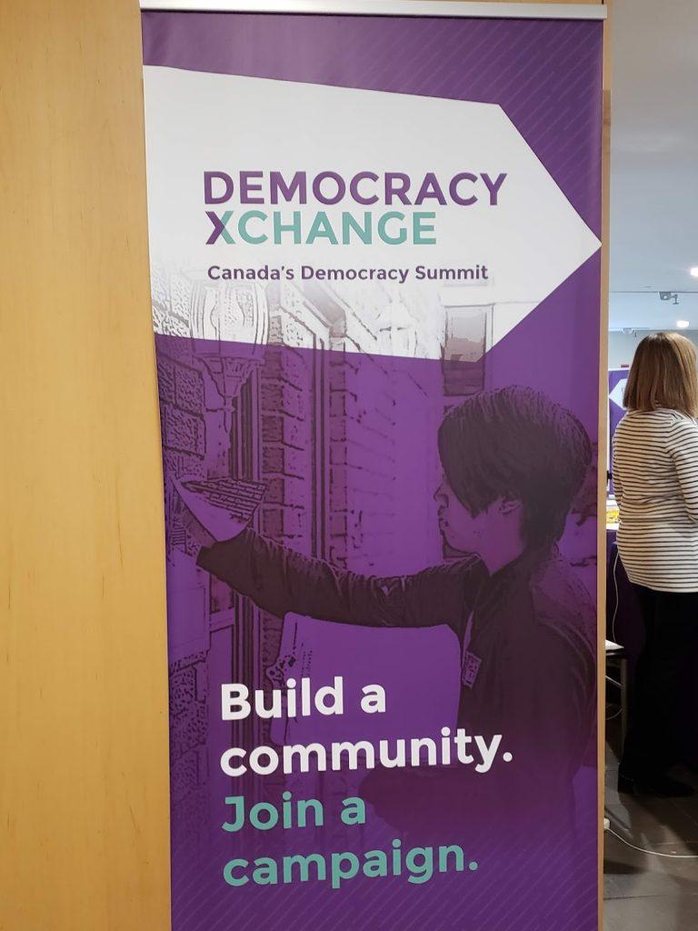 Poster for DemocracyXChange