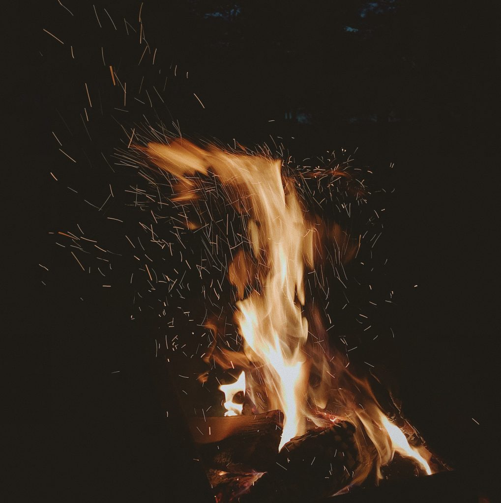 Picture of a fire