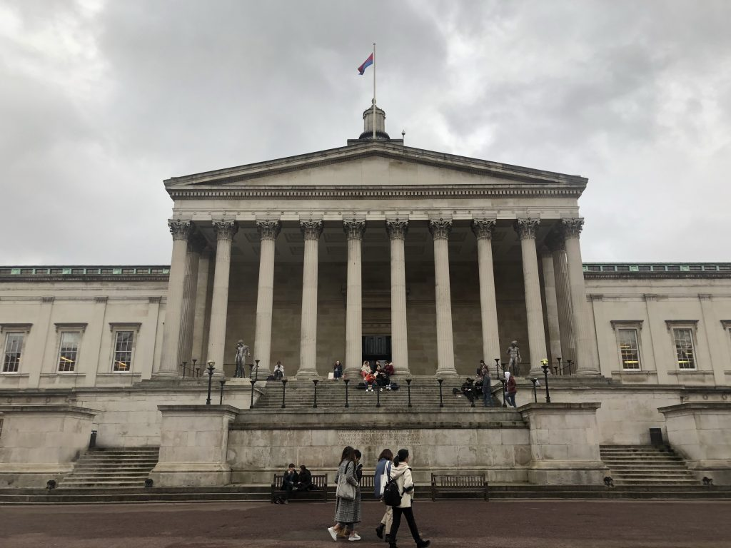 UCL's main quad.